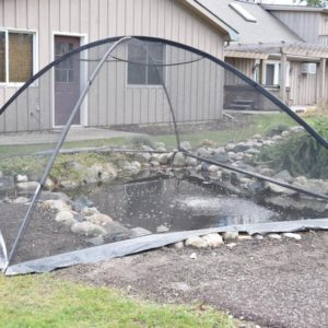 Deluxe Pond Cover Tent – 10′ x 14′