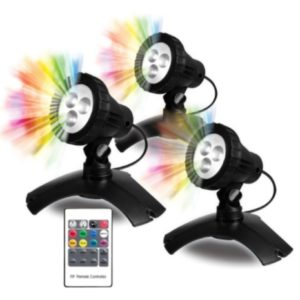 PONDMAX LARGE COLOR-CHANGING 3 LIGHT KIT