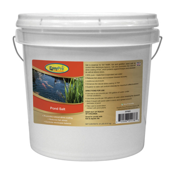 Pond Salt 20lb Bucket